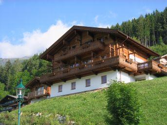 Schöneben Bauernhaus Westzijde met sauna